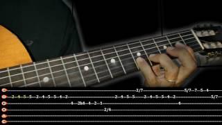 O Maior Troféu/Aula Violão,Solo Introdução,Versão Acústica Com Tablatura/Damares