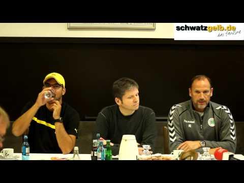 Borussia Dortmund U23 vs. Rot Weiß Oberhausen Pressekonferenz + Tammo Harder