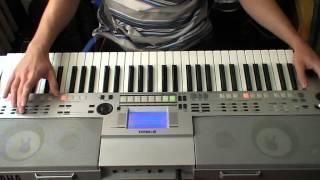 Avenged Sevenfold - So Far Away ( solo on keyboard )