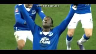 Everton 2-0 Chelsea ALL GOALS - 2015/16 FA CUP - March 12, 2016 Romelu Lukaku