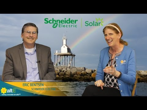 Eric Bentsen from Schneider Electric sits down with us to discuss the differences and similarities of their two hybrid solar inverters, the Conext XW+ and SW models. While both inverters can connect to the grid, only the XW+ is designed to sell power back