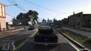 Grand Theft Auto V mil maneras de morir n16 todoterreno contra el suelo ps4 español