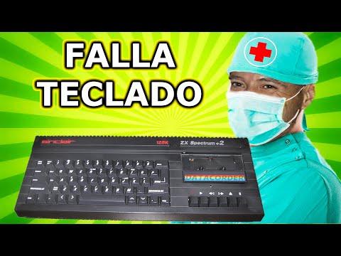 REPARACION SPECTRUM +2 FALLO TECLADO PANTALLA TEST