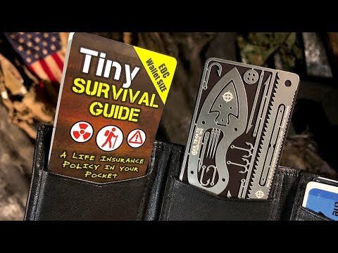 NEW! My CRAZY Survival Guide that Can Save Your Life  - Meet Tiny SURVIVAL KIT and GUIDE