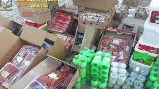 COSENZA: SEQUESTRATI OLTRE 600 KG DI ALIMENTI IN PESSIMO STATO DI CONSERVAZIONE
