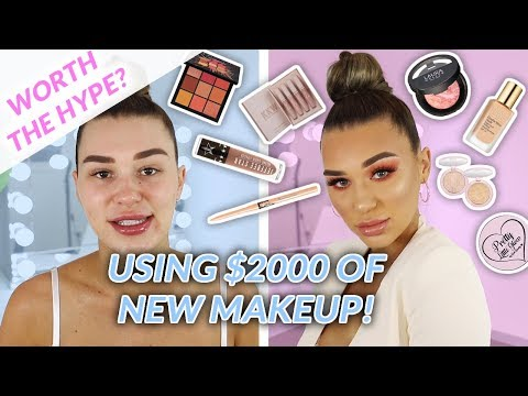 Chit Chat GRWM - TRYING NEW MAKEUP