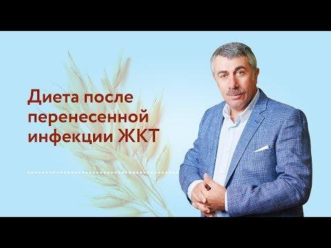 Диета после перенесенной инфекции ЖКТ | Доктор Комаровский