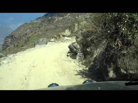 The World's Most Dangerous Road in Nepal