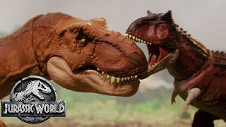 The Dinosaur Escape Part 2 (Sweded) | Jurassic World: Fallen Kingdom | Mattel Action!