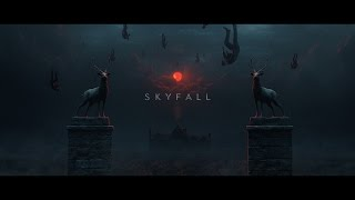 """Homage to """"Skyfall"""" title sequence"""