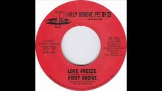 First Choice - Love Freeze