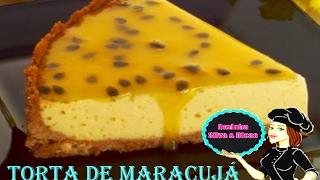 Receita de Como Fazer Torta de Maracujá,