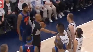 Paul George & Donovan Mitchell CUSS Each Other Out Sparking The Best Playoff Feud!