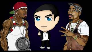 50 Cent   You Can't See ft  Eminem & 2Pac rCent Remix 2014