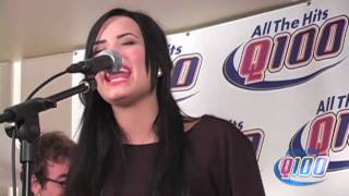 "Demi Lovato ""La La Land"" Live on The Bert Show"