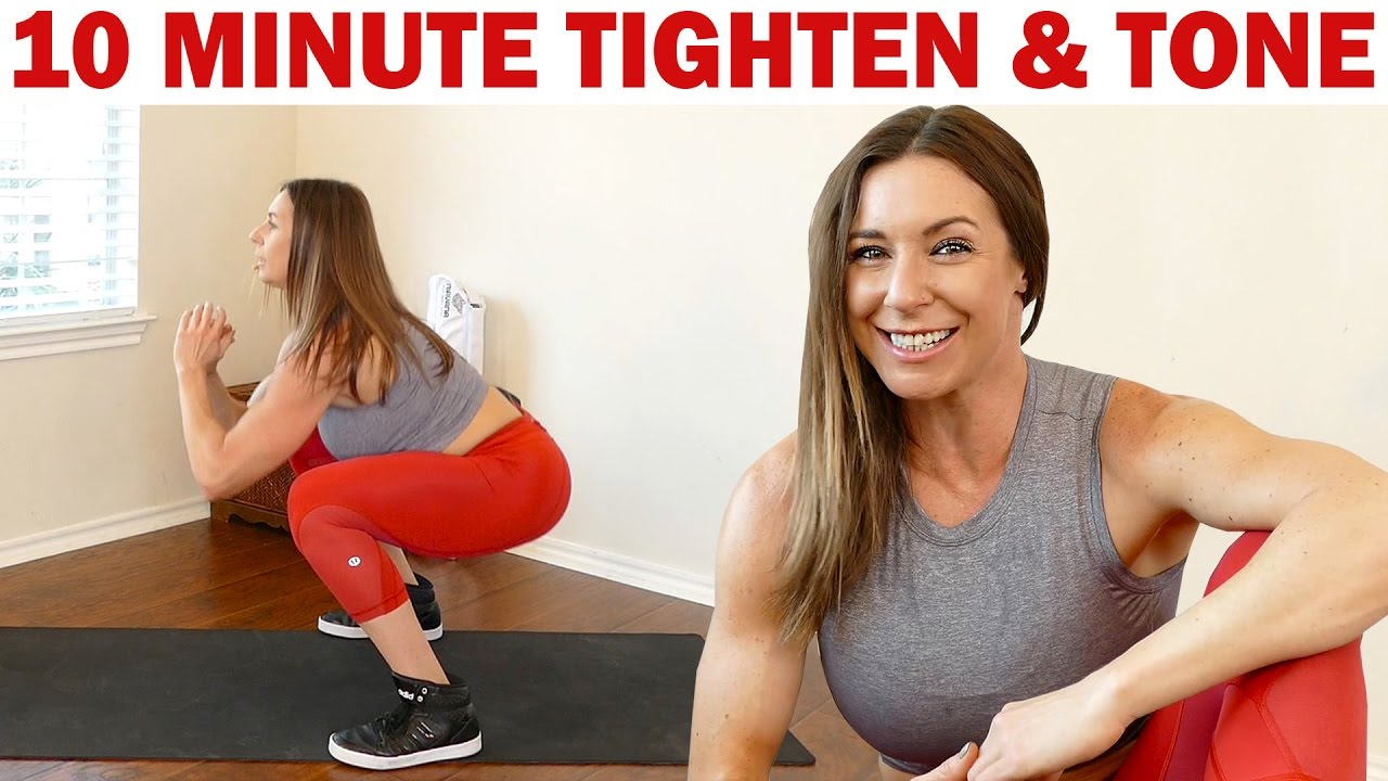 Intense 10 Minute Total Body Workout!