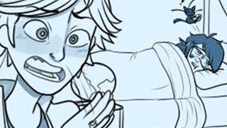 Miraculous Ladybug [Comic Dub] - Sleepover | PHANTOMSAVAGE