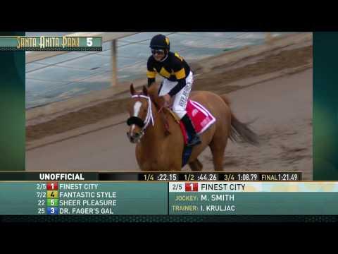 Santa Monica Stakes (Gr.  II) - January 21, 2017
