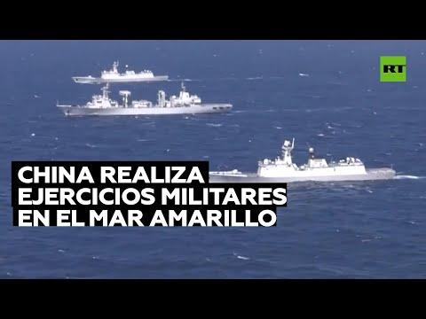 China realiza ejercicios militares en el mar Amarillo