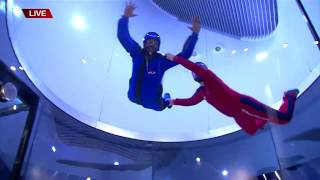 CHRIS GILMORE IFLY Indoor Skydiving LIVE HIT