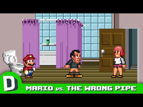 Mario Chose the Wrong Pipe