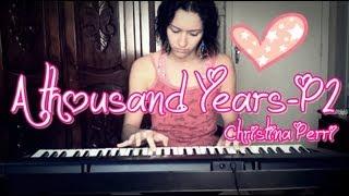 A Thousand Years Part 2 - Christina Perri -  teclado cover Jéssica Niherosi