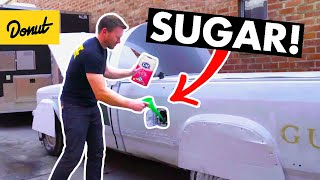 SUGAR IN THE TANK - What actually happens? | HOW IT WORKS | SCIENCE GARAGE width=