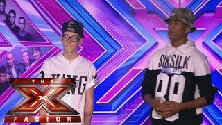 GCB sing Chris Brown's Don't Judge Me | Room Auditions Week 1 | The X Factor UK 2014
