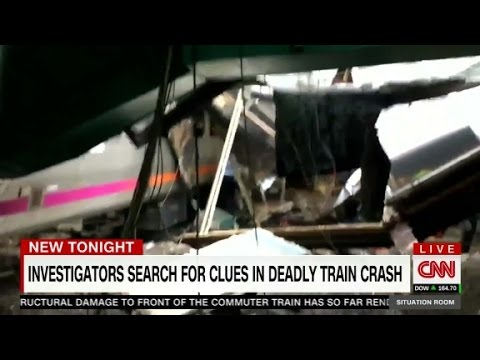 NJ Train crash: focus on data, engineer