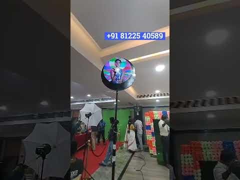 Hologram Bride Groom 3D Photo Display Standee Wedding Decoration +91 81225 40589 New Technology