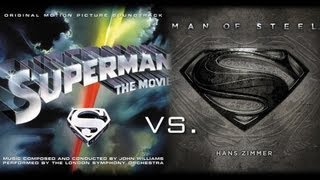 Superman of Steel by Hans Williams (John Williams vs. Hans Zimmer)