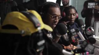 Migos rapping a children's book over the Bad & Boujee beat