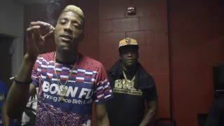 Back Stage w/ Solo Lucci and OG Boobie Black #IDGT Tour (Memphis, TN)