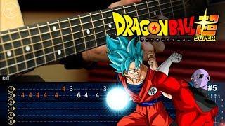 Dragon Ball Super | Goku vs Jiren Theme (Ultimate Battle) | Guitar Cover  Tutorial