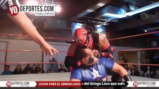 Lucha libre a beneficio del Gringo Loco en Eagles Club de Berwyn Illinois