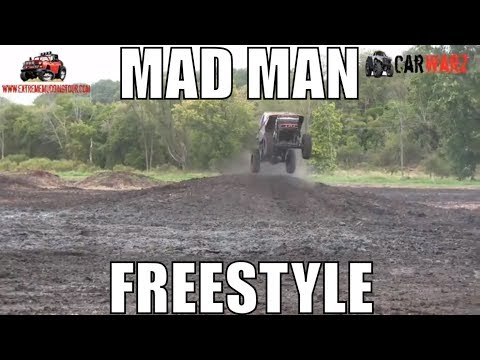 MAD MAN Mega Truck Freestyle At Extreme ORV Expo 2018