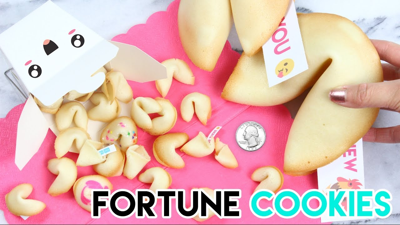 How to Make Mini Fortune Cookies!