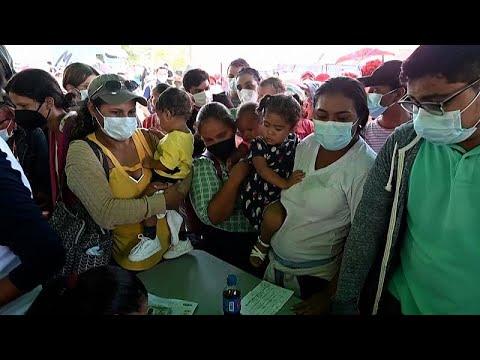 Honduras-ba mennek oltásért a nicaraguaiak