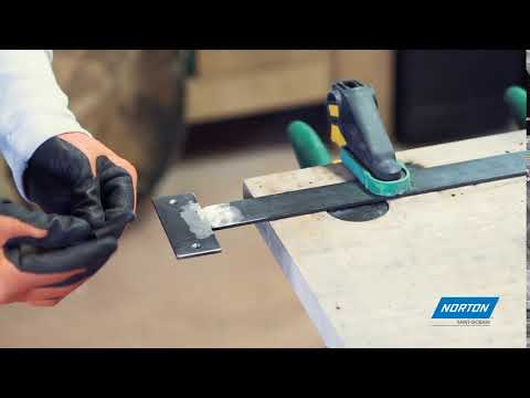 Norton Essential Cut Sheets for Hand Sanding Steel
