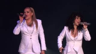 Rocío Banquells ft. Karina - Luna mágica - GranDiosas - Auditorio Nacional (13 06 14)