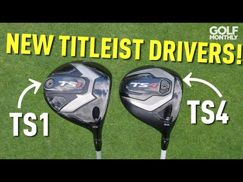 New Titleist TS1 & TS4 Drivers Tested! Golf Monthly