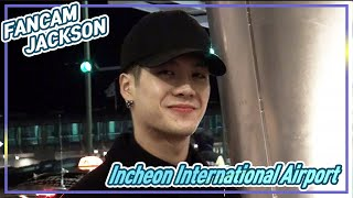 [FANCAM] 151205  Incheon International Airport  GOT7 -  JACKSON (잭슨직캠)