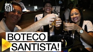 Boteco Santista reúne torcedores, na estreia do Peixe na Libertadores