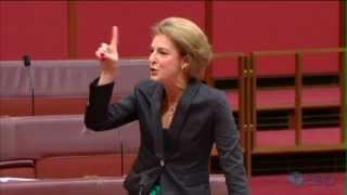 Michaelia Cash launches a vicious rant against the Labor 'sisterhood'