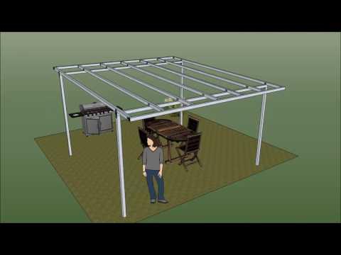 Come costruire gazebo in ferro fai da te mania for Costruire un gazebo in ferro