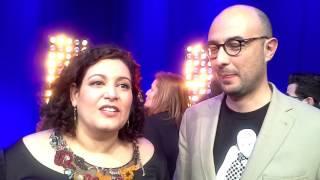 Celina da Piedade e Alex Gaspar em entrevista
