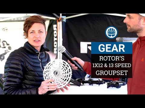 Rotor's 1x12 & 13 Modular Groupset Explained | Sea Otter 2019