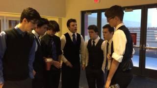 HRS boys doing a little mall improv.