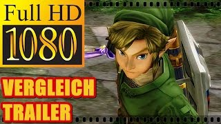 THE LEGEND OF ZELDA - TWILIGHT PRINCESS HD | Vergleich GameCube Wii U Trailer [HD]