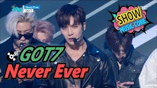 [Comeback Stage] GOT7(갓세븐) - Never ever,  Show Music core 20170325